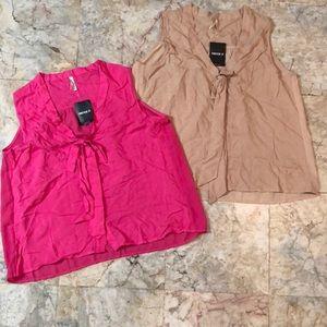Forever 21 sleeveless woven top